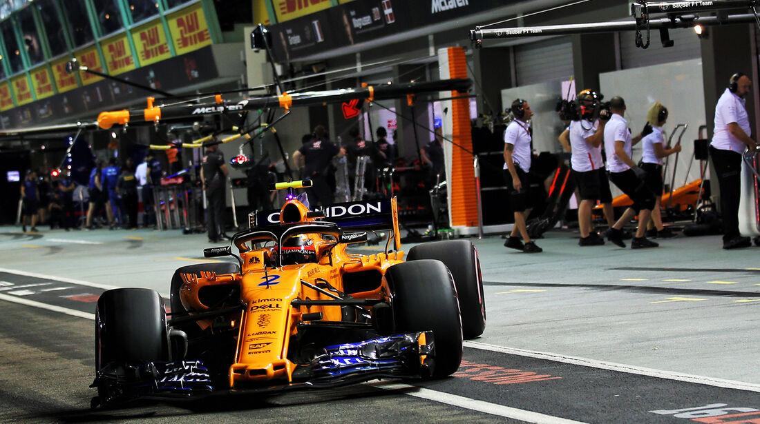 Stoffel Vandoorne - GP Singapur 2018
