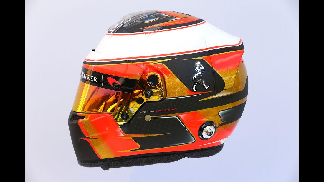 Stoffel Vandoorne - Helm - Formel 1 - 2017