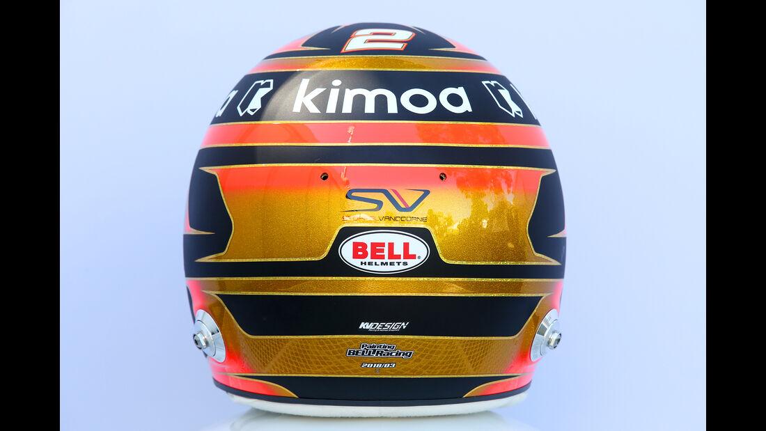 Stoffel Vandoorne - Helm - Formel 1 - 2018
