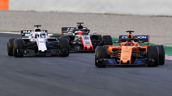 Stoffel Vandoorne - McLaren - Barcelona - F1-Test 2018