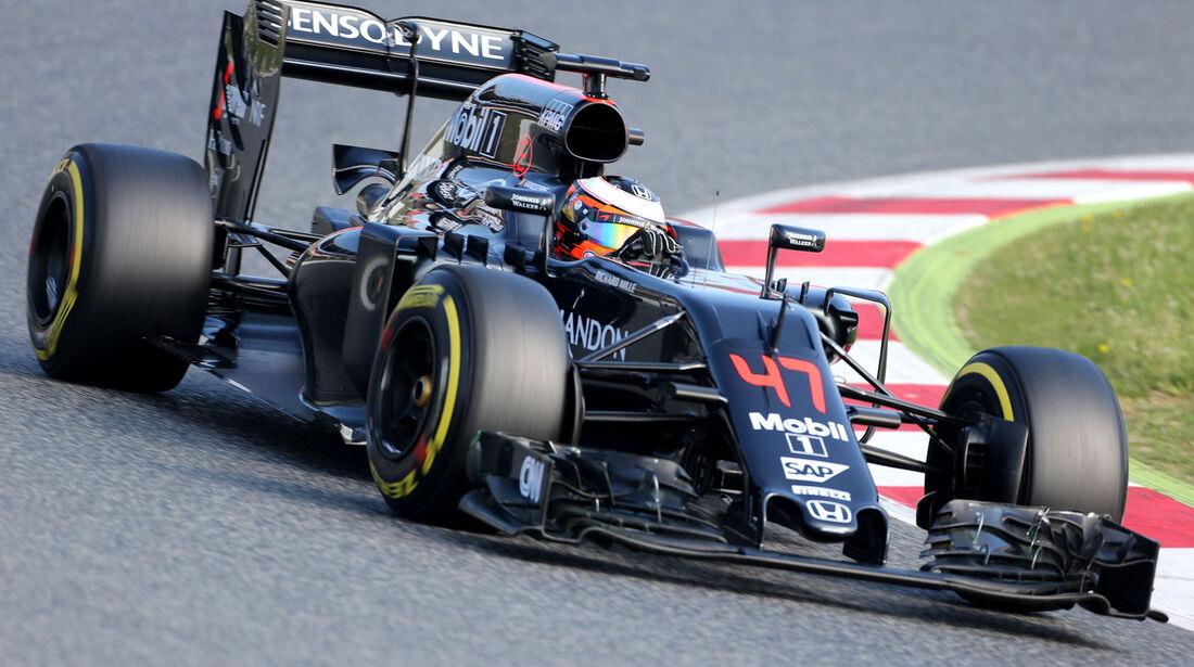 Stoffel Vandoorne - McLaren - Barcelona Test 2 - 18. Mai 2016