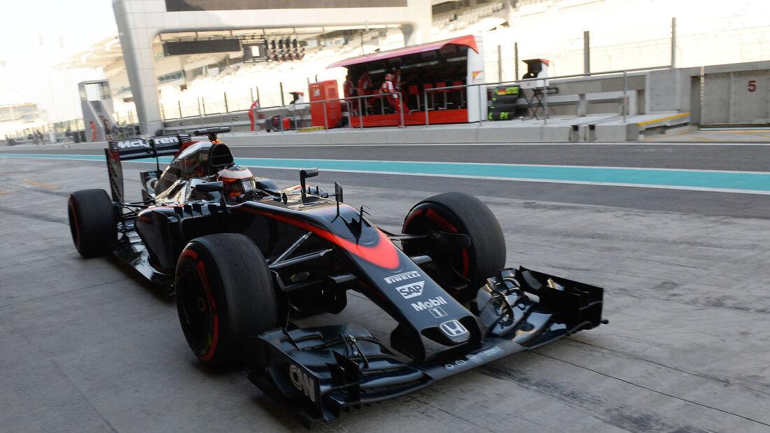 Stoffel Vandoorne - McLaren - F1-Test - Abu Dhabi 2015