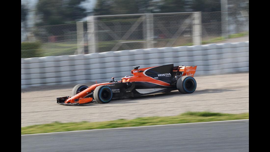 Stoffel Vandoorne - McLaren - F1-Test - Barcelona - 2017