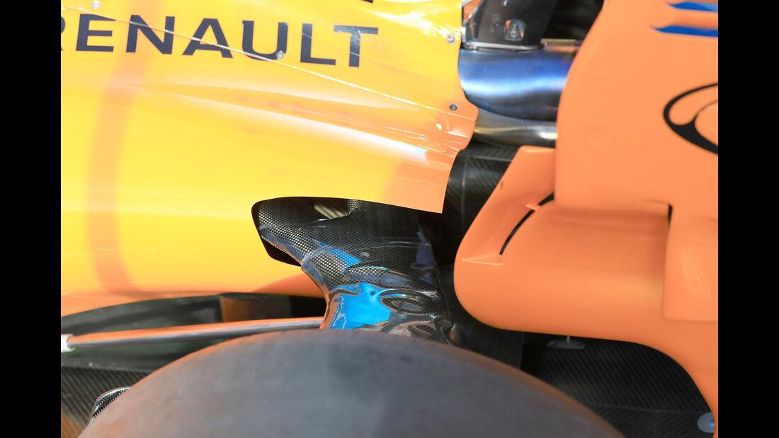 Stoffel Vandoorne - McLaren - F1-Test - Barcelona - Tag 7 - 8. März 2018
