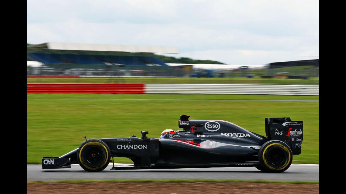 Stoffel Vandoorne - McLaren - F1-Test - Silverstone - 13. Juli 2016