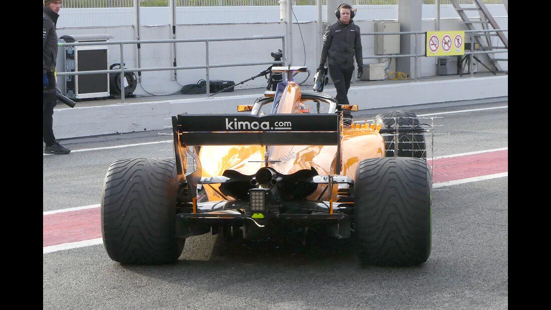 Stoffel Vandoorne - McLaren - Ferrari - F1-Test - Barcelona - Tag 2 - 27. Februar 2018
