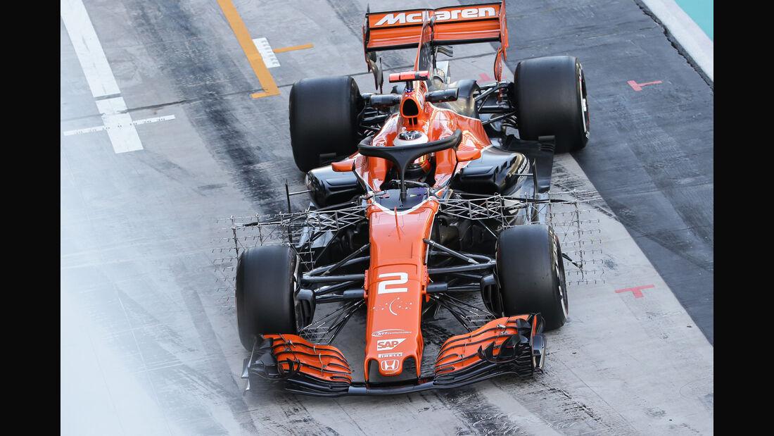 Stoffel Vandoorne - McLaren - Formel 1 - Abu Dhabi - Test 2 - 29. November 2017