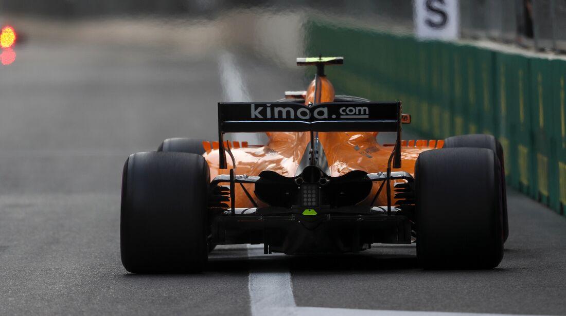 Stoffel Vandoorne - McLaren - Formel 1 - GP Aserbaidschan - 29. April 2018