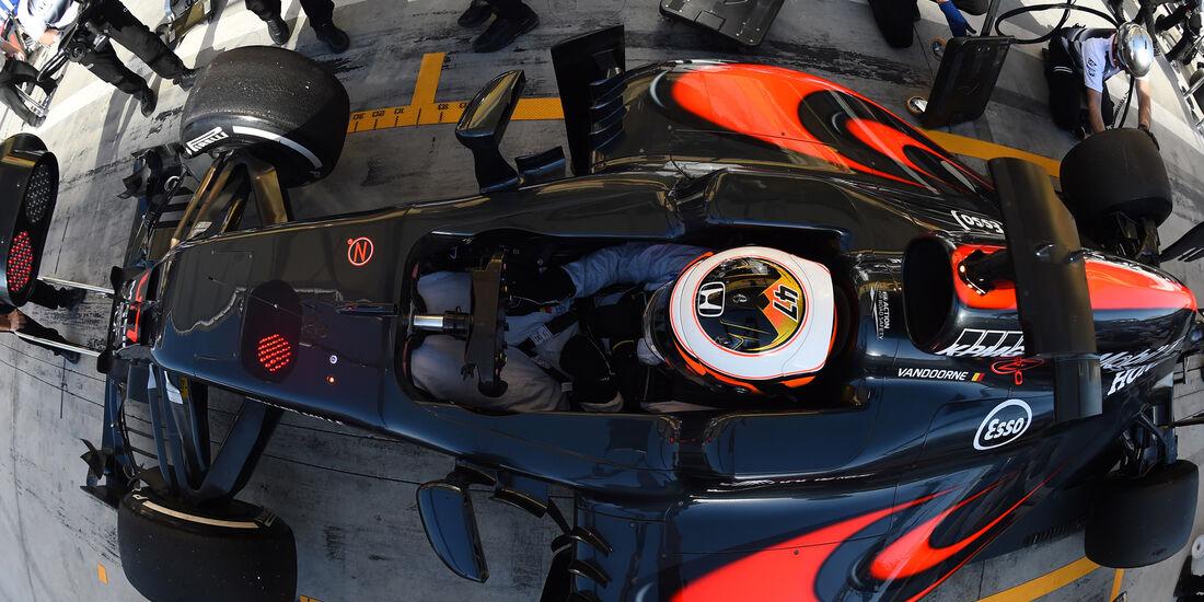 Stoffel Vandoorne - McLaren - Formel 1 - GP Bahrain - 2. April 2016