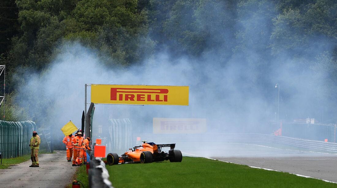 Stoffel Vandoorne - McLaren - Formel 1 - GP Belgien - Spa-Francorchamps - 25. August 2018