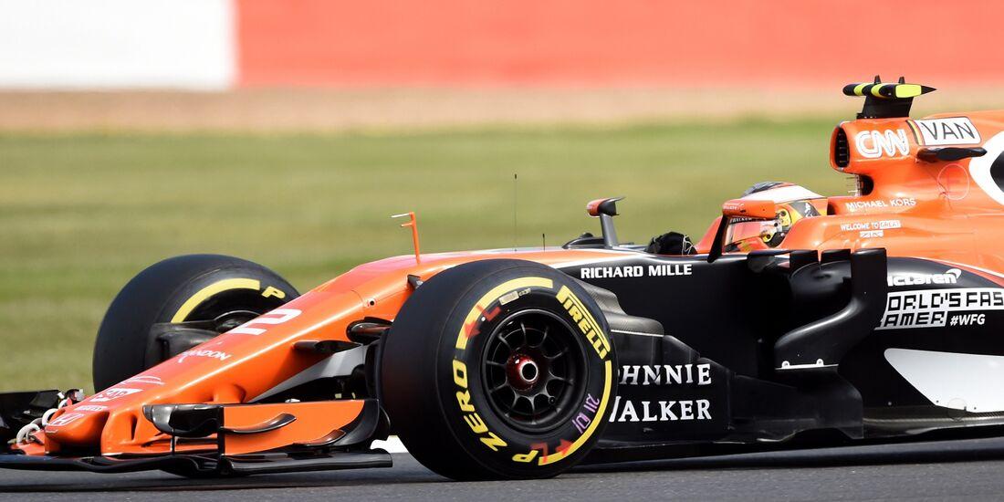 Stoffel Vandoorne - McLaren - Formel 1 - GP England - 14. Juli 2017