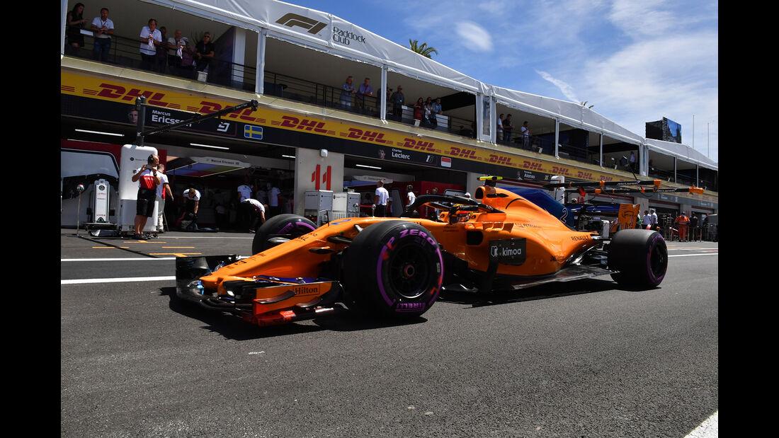 Stoffel Vandoorne - McLaren - Formel 1 - GP Frankreich - Circuit Paul Ricard - 22. Juni 2018