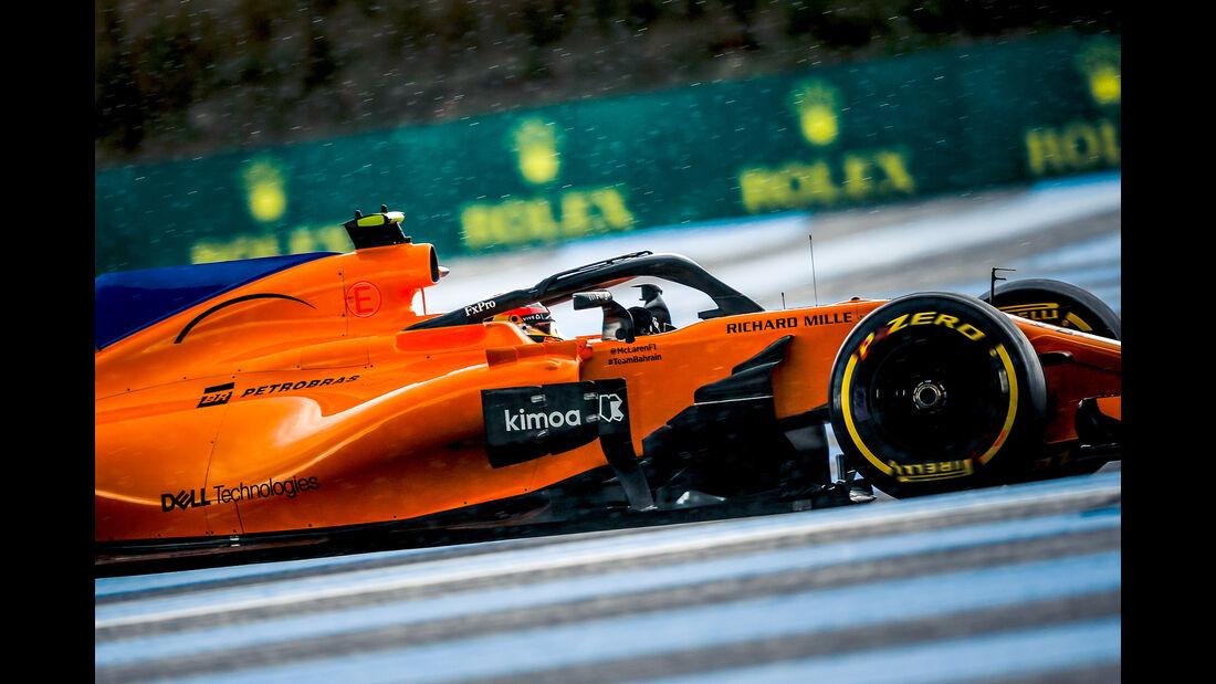 Stoffel Vandoorne - McLaren - Formel 1 - GP Frankreich - Circuit Paul Ricard - Le Castellet - 23. Juni 2018