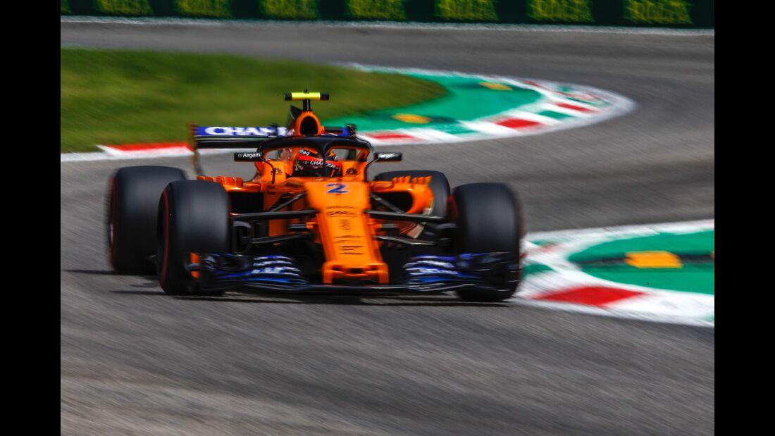 Stoffel Vandoorne - McLaren - Formel 1 - GP Italien - 01. September 2018