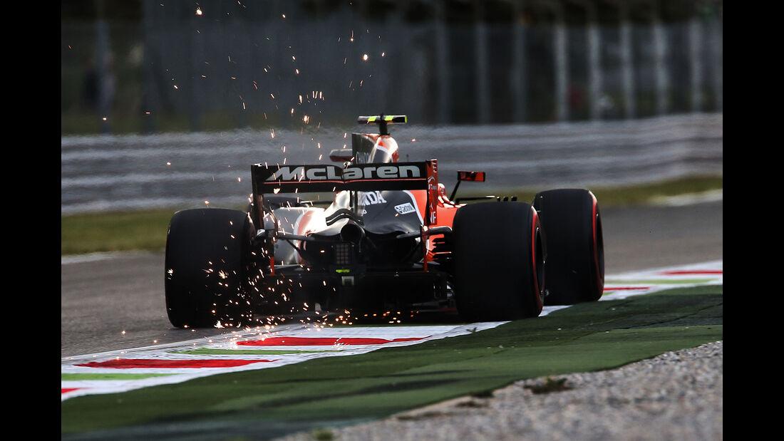 Stoffel Vandoorne - McLaren - Formel 1 - GP Italien - Monza - 1. September 2017