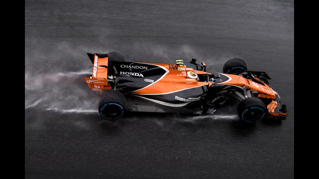 Stoffel Vandoorne - McLaren - Formel 1 - GP Italien - Monza - 2. September 2017