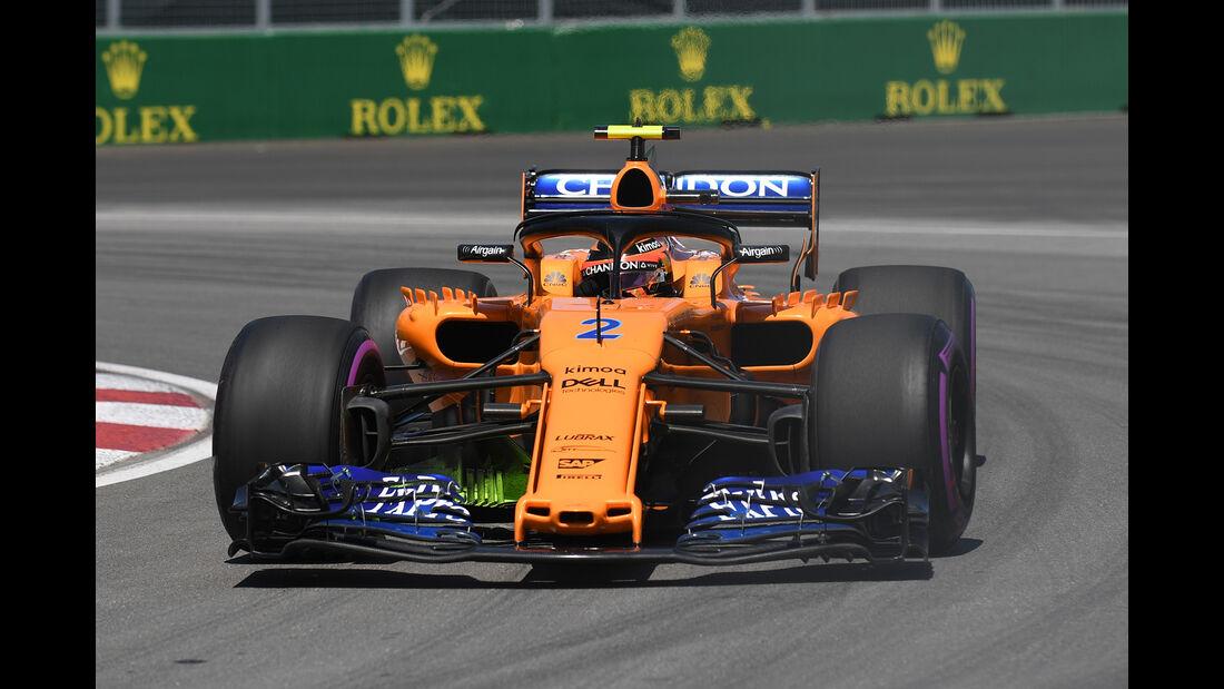 Stoffel Vandoorne - McLaren - Formel 1 - GP Kanada - Montreal - 8. Juni 2018
