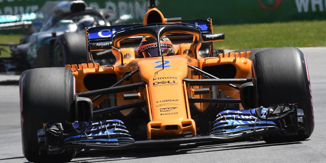 Stoffel Vandoorne - McLaren - Formel 1 - GP Kanada - Montreal - 9. Juni 2018