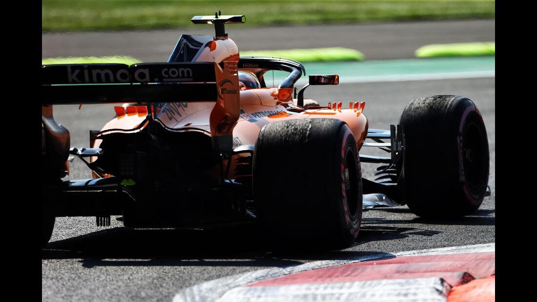 Stoffel Vandoorne - McLaren  - Formel 1 - GP Mexiko - 26. Oktober 2018