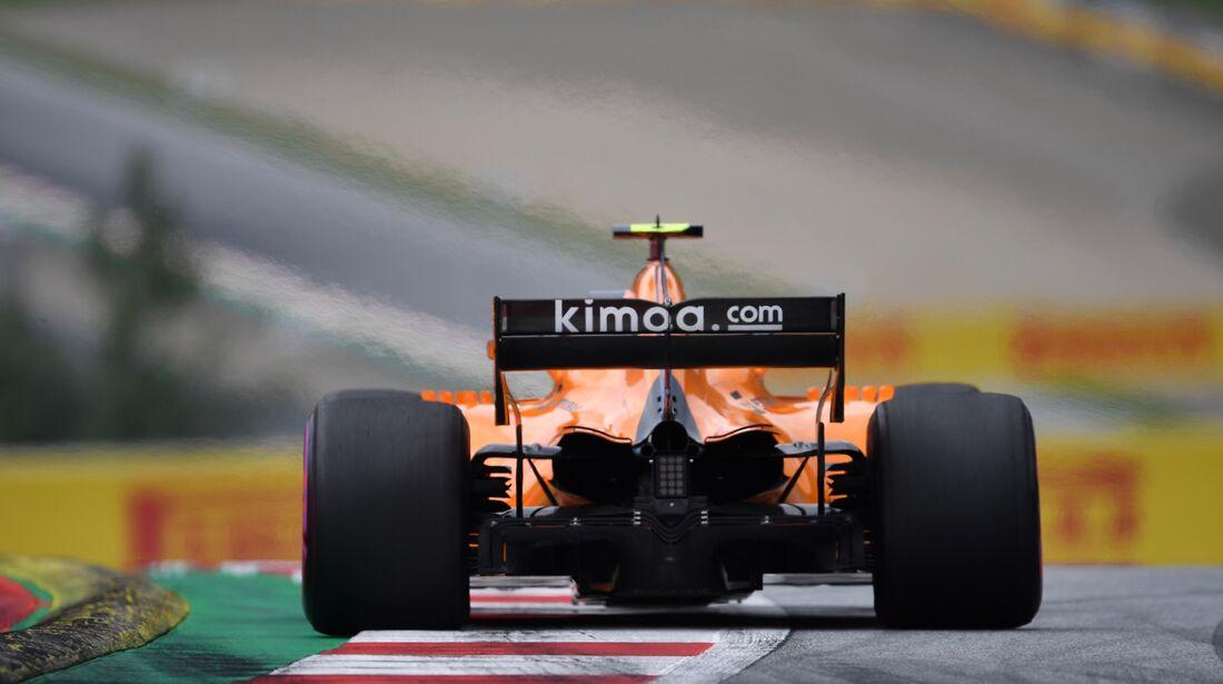 Stoffel Vandoorne - McLaren - Formel 1 - GP Österreich - 30. Juni 2018