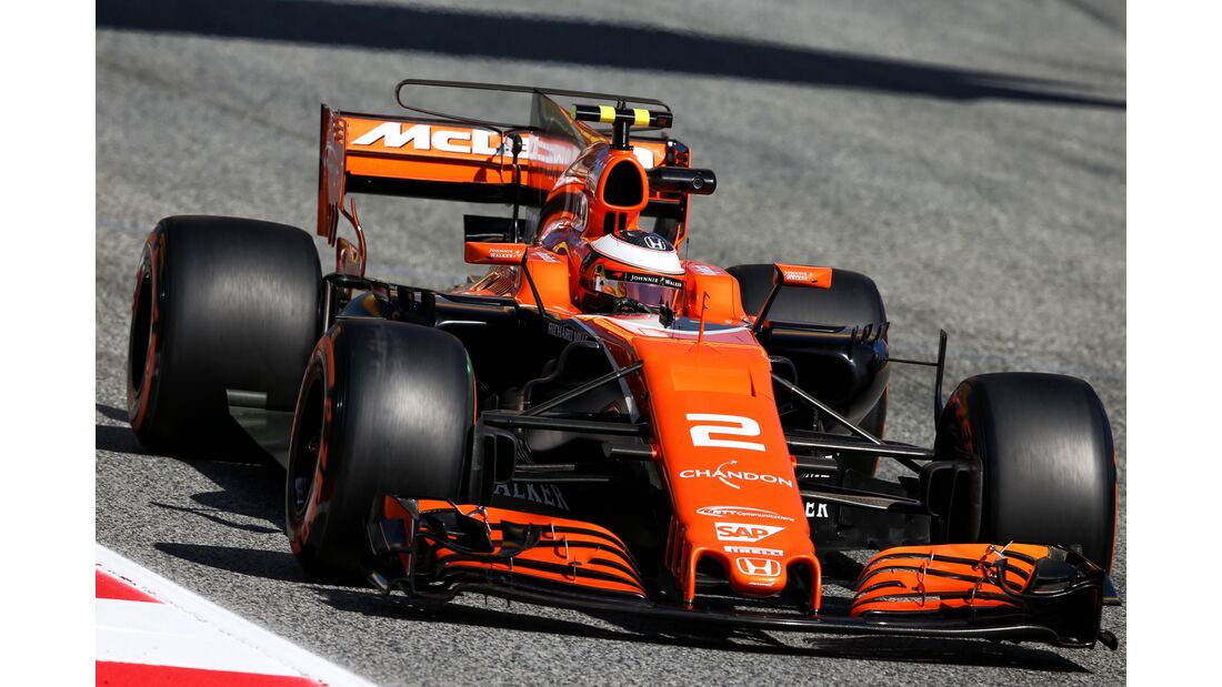 Stoffel Vandoorne - McLaren - Formel 1 - GP Spanien - 12. Mai 2017