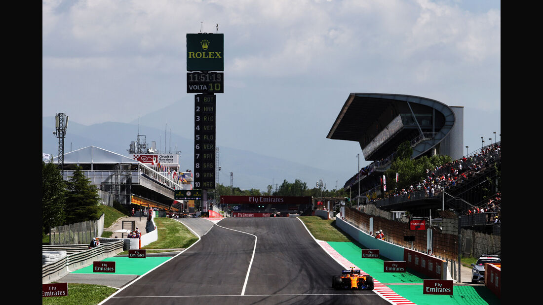 Stoffel Vandoorne - McLaren - Formel 1 - GP Spanien - Barcelona - 11. Mai 2018