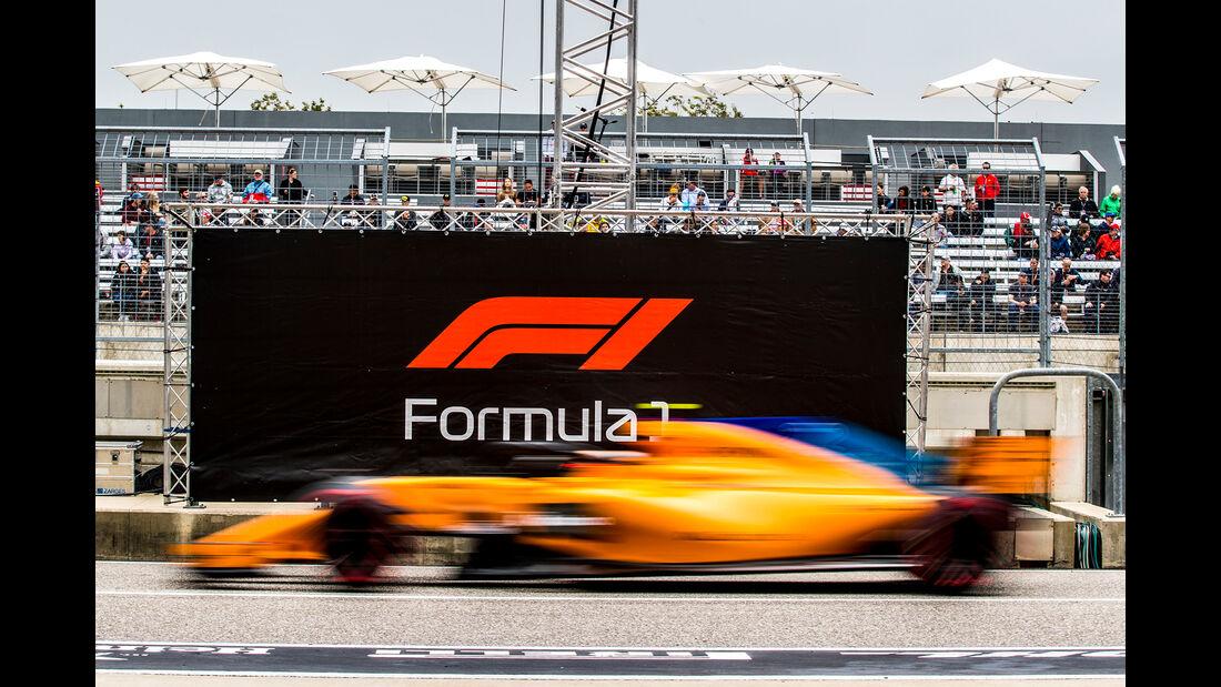 Stoffel Vandoorne - McLaren - Formel 1 - GP USA - Austin - 20. Oktober 2018