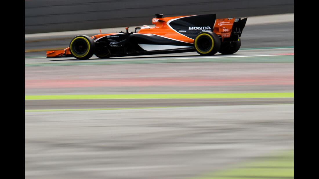 Stoffel Vandoorne - McLaren - Formel 1 - Test - Barcelona - 28. Februar 2017