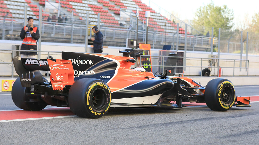 Stoffel Vandoorne - McLaren - Formel 1 - Test - Barcelona - 7. März 2017
