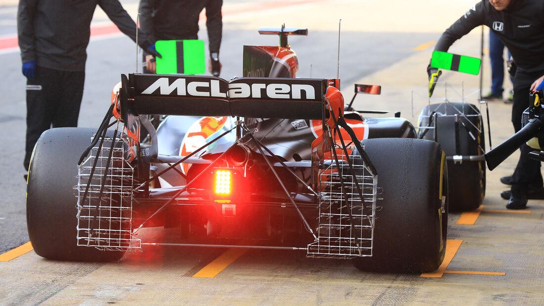 Stoffel Vandoorne - McLaren - Formel 1 - Test - Barcelona - 9. März 2017