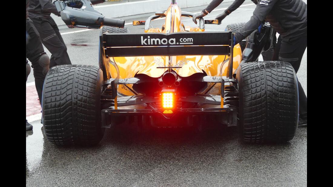 Stoffel Vandoorne - McLaren - Formel 1 Test - Barcelona - Tag 4 - 1. März 2018