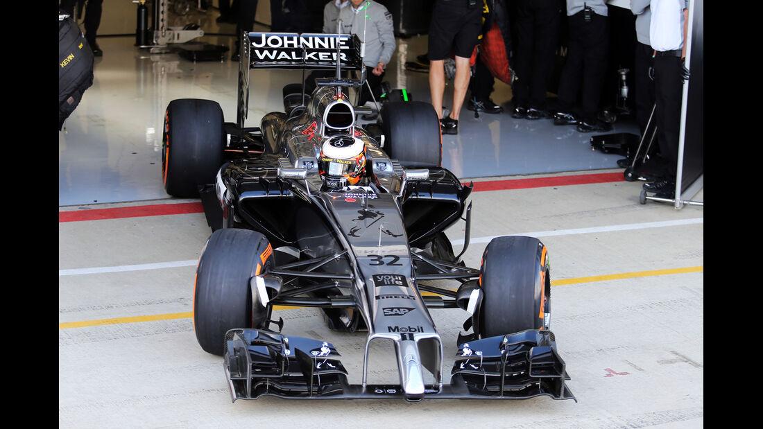 Stoffel Vandoorne - McLaren - Formel 1-Test - Silverstone 2014
