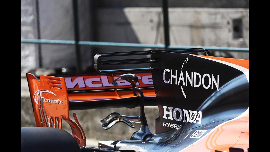Stoffel Vandoorne - McLaren - Formel 1 - Test - Ungarn - Budapest - 1. August 2017
