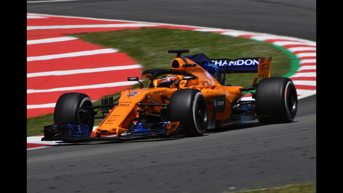 Stoffel Vandoorne - McLaren - Formel 1 - Testfahrten - Barcelona - 15.5.2018