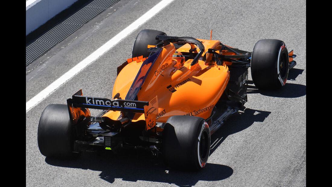 Stoffel Vandoorne - McLaren - Formel 1 - Testfahrten - Barcelona - 15.5.2118