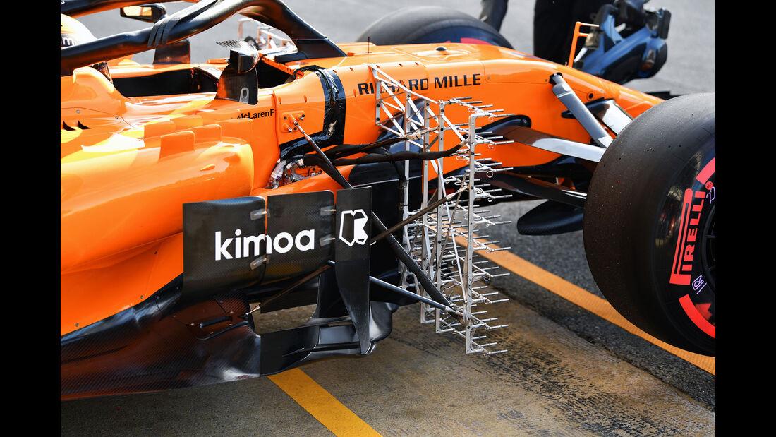 Stoffel Vandoorne - McLaren - Formel 1 - Testfahrten - Barcelona - Dienstag - 15-5-2018