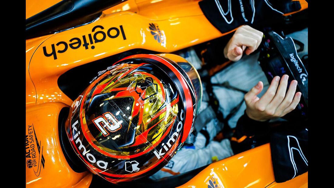 Stoffel Vandoorne - McLaren - GP Abu Dhabi - Formel 1 - 23. November 2018