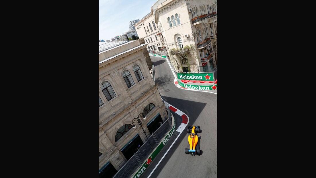 Stoffel Vandoorne - McLaren - GP Aserbaidschan 2018