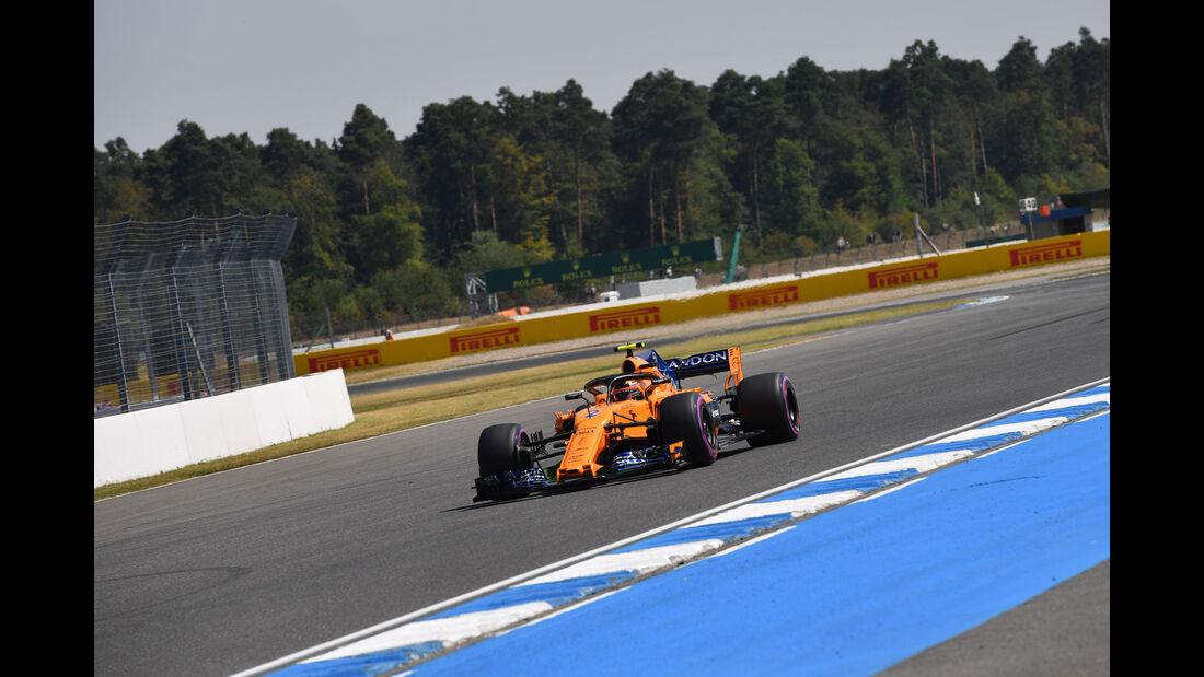 Stoffel Vandoorne - McLaren - GP Deutschland - Hockenheim - Formel 1 - Freitag - 20.7.2018