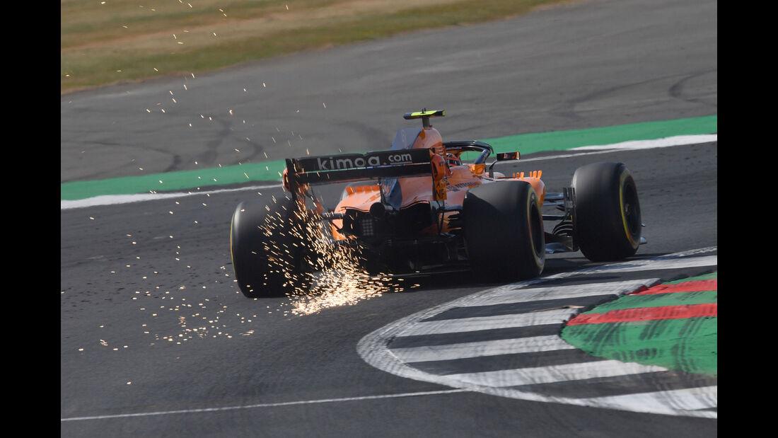 Stoffel Vandoorne - McLaren - GP England - Silverstone - Formel 1 - Freitag - 6.7.2018