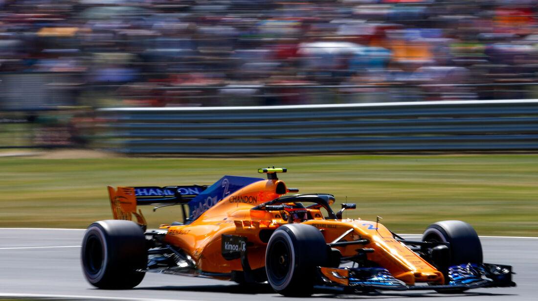 Stoffel Vandoorne - McLaren - GP England - Silverstone - Formel 1 - Samstag - 7.7.2018