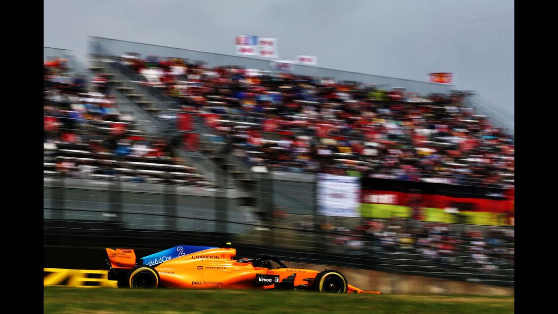 Stoffel Vandoorne - McLaren - GP Japan - Suzuka - Formel 1 - Samstag - 6.10.2018