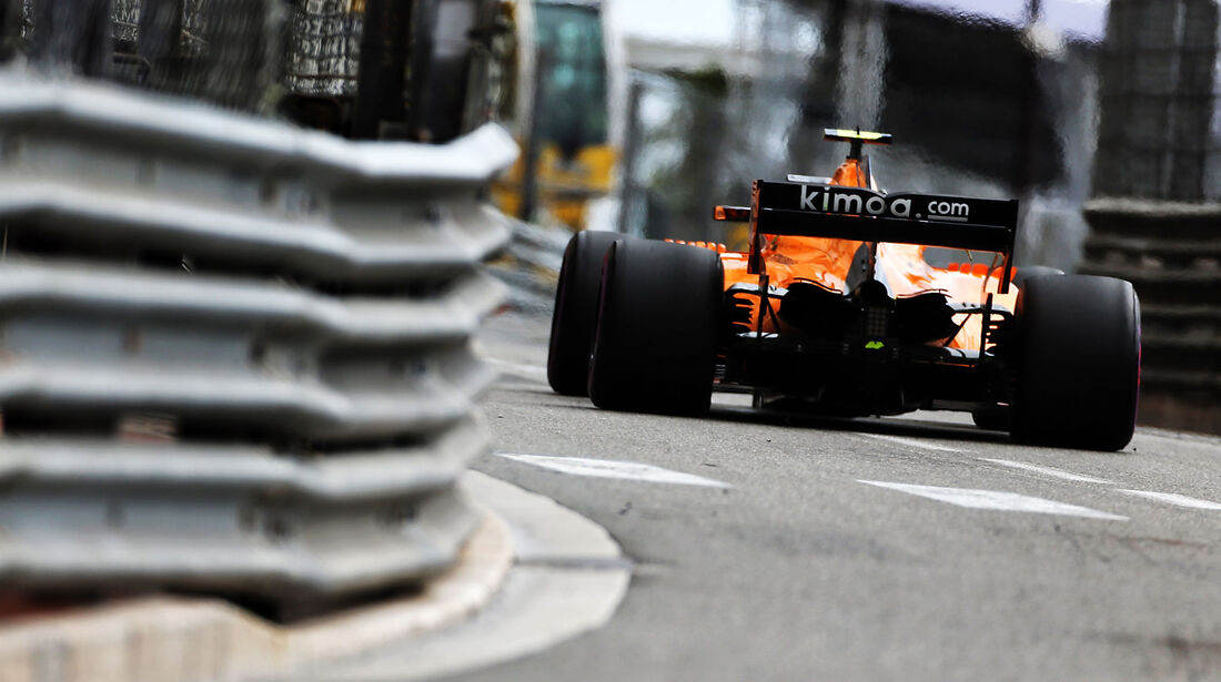 Stoffel Vandoorne - McLaren - GP Monaco - Formel 1 - Donnerstag - 24.5.2018