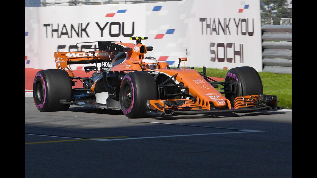 Stoffel Vandoorne - McLaren - GP Russland 2017