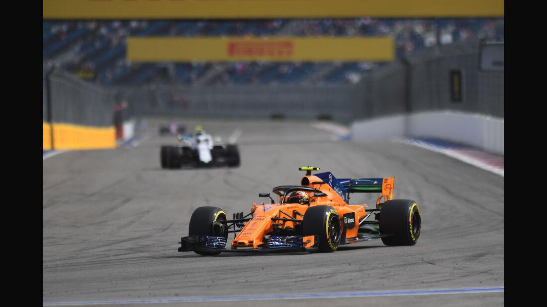 Stoffel Vandoorne - McLaren - GP Russland - Sotschi - Formel 1 - Freitag - 28.9.2018