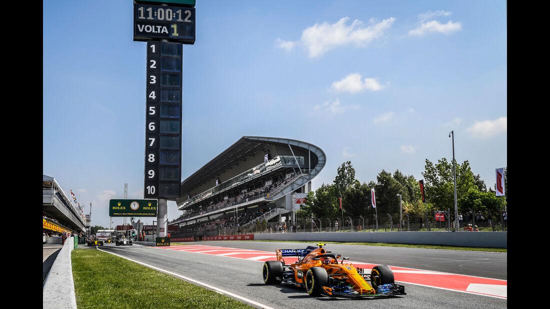 Stoffel Vandoorne - McLaren - GP Spanien 2018
