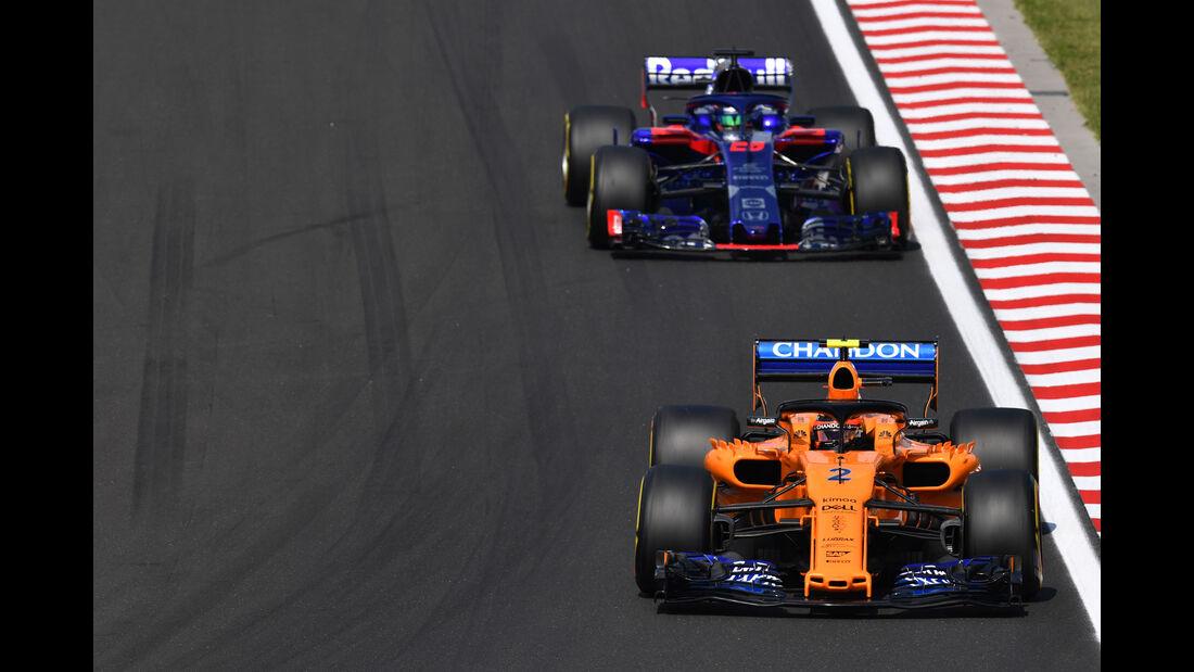 Stoffel Vandoorne - McLaren - GP Ungarn - Budapest - Formel 1 - Freitag - 27.7.2018