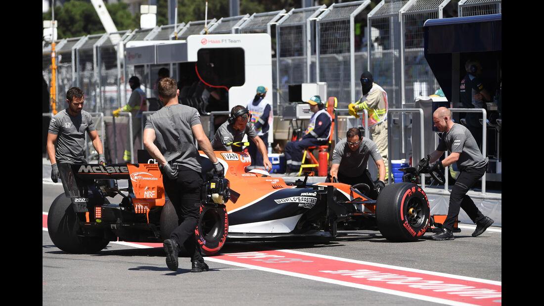Stoffel Vandoorne - McLaren-Honda - GP Aserbaidschan 2017 - Qualifying - Baku - Samstag - 24.6.2017