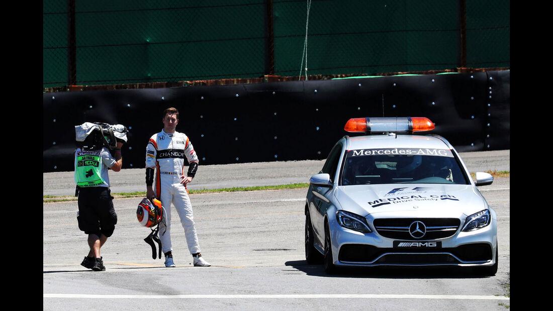 Stoffel Vandoorne - McLaren-Honda - GP Brasilien 2017