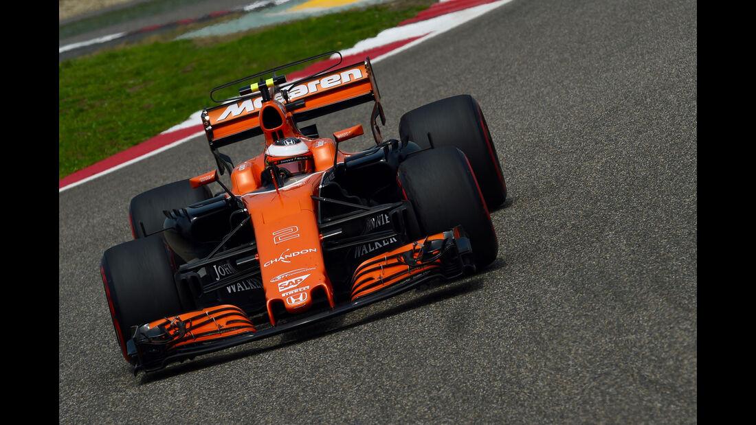 Stoffel Vandoorne - McLaren-Honda -  GP China 2017 - Qualifying - 8.4.2017